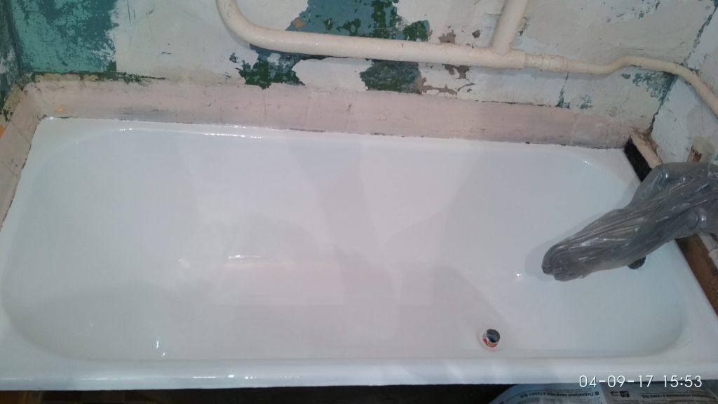 Ремонт акриловых ванн киев