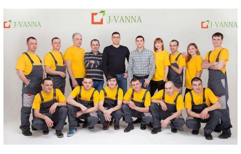 Реставрация ванны жидким акрилом, реставрация ванн акрилом цена, отзывы смотрите на сайте, компания «J-VANNA»